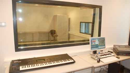 Prison music studio