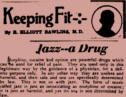 Jazz die Droge