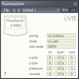 Toupad to MIDI